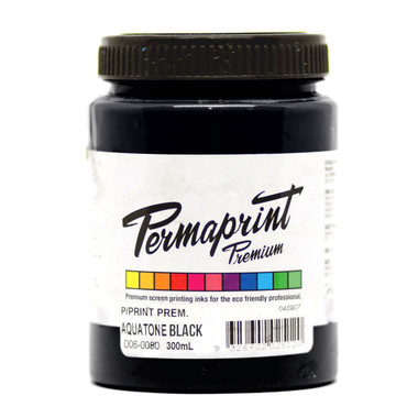 Permaset Permaprint Premium Ink - Aquatone Black