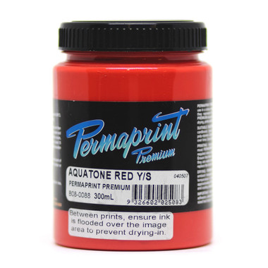 Permaset Permaprint Premium Ink - Red Y/S