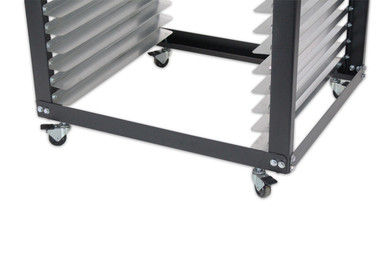 Screen Rack / Shop Cart - Locking Caster Wheels