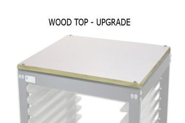 NTL Cart - Wood Top Upgrade