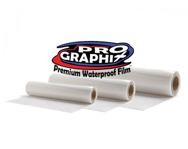 "ProGraphix© Premium Waterproof Inkjet Film - 13""x100' Roll"