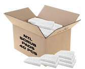 NTL Scrub - Pad Only - White - 40 PACK