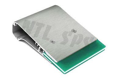 Max Force™ Aluminum Squeegee with 70/90/70 Triple Durometer Blade
