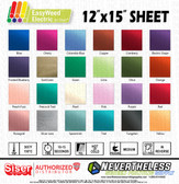 "Siser Easyweed Electric HTV Heat Transfer Vinyl - 15""x12"" Sheet"