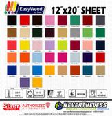 """Siser Easyweed HTV Heat Transfer Vinyl - 12""""x20"""" Sheet"""
