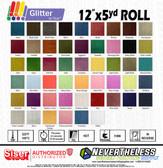 """Siser Glitter HTV Heat Transfer Vinyl - 12""""x5yd Sheet"""