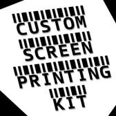 Custom Screen Printing Kit - Sara Woods