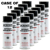 Xenon Spray Adhesive Mist Case - 12 Cans