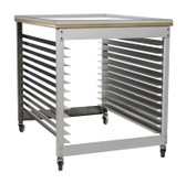 Rolling Work Cart / Screen Rack