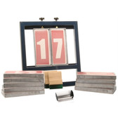 Number Screen Printing System