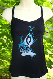 Lotus Hemp & Organic Cotton Yoga Tank