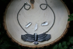 Flying Free Eagle Necklace