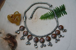Beneath the Leaves Jasper Necklace
