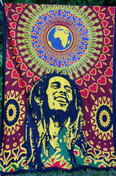 Bob Marley One Love Tapestry