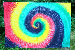 Rastafari Tie Dye Tapestry