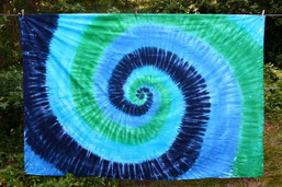 Crystal Water Tie Dye Tapestry
