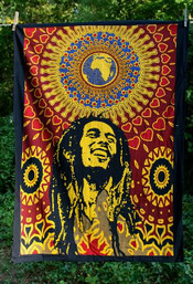 Bob Marley One Love Mini Tapestry