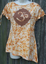 Peace Seeker Organic Fair Trade Batik Top
