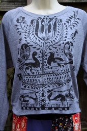 Boho Tree of Life Long Sleeve Pullover