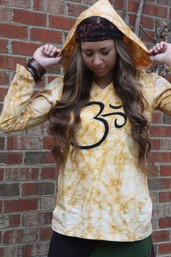 Shangri-La Fair Trade Pocket OM Organic Hoodie