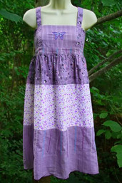 Butterfly Garden Fair Trade Apron Dress