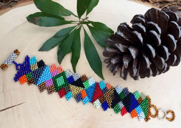 Kaleidoscope Geometric Fair Trade Bracelet
