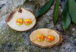 Vintage Glow Fused Glass Fair Trade Earrings