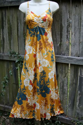 Vintage Summer Fair Trade Maxi Dress