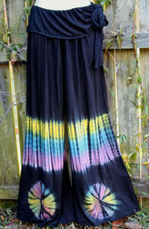 Mountain Goddess Fair Trade Tie Dye Pants II