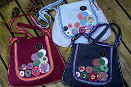 Bubbles in the Sky Fair Trade Purse