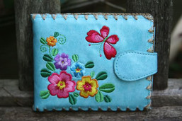 Butterfly Garden Eco-Friendly Vegan Wallet