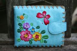 Butterfly Garden Eco-Friendly Vegan Wallet