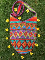 Boho Summer Fair Trade Handmade Bag
