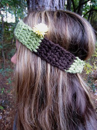 Earth Echo Organic Handmade Headband