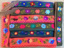 Magic Garden Embroidered Fair Trade Headwrap