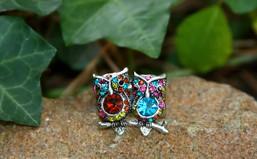 Cozy Owl Love Stretch Ring