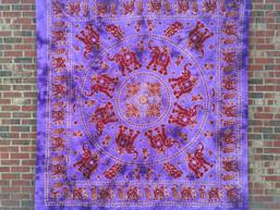 Elephant Dance Mandala Tapestry