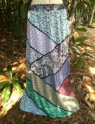 Magical Forest Fair Trade Patchwork Skirt