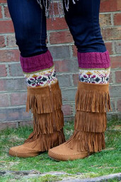 Mountain Magic Fair Trade Boot Cuffs