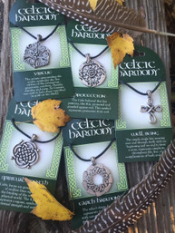 Celtic Harmony Pewter Necklace