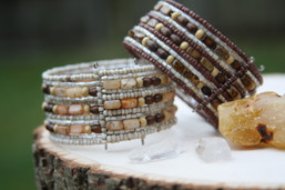 Wilderness Wanderer Beaded Cuff