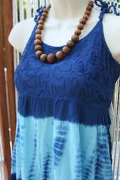 Woodstock Tie Dye Babydoll Top