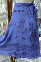 Peace & Meditation Fair Trade Wrap Skirt