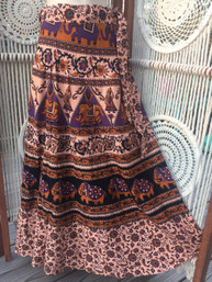 Vintage Hippie Wrap Skirt - Appalachia