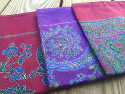 Paisley Boho X-Large Cotton Bandana