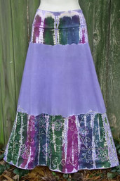 Summer Rain Fair Trade Tie Dye Skirt
