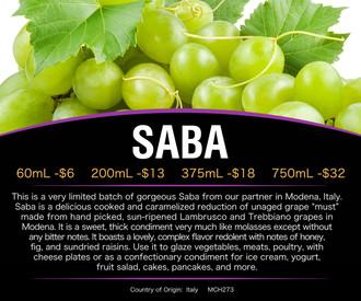 SABA *Back In Stock*