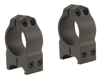 "Warne CZ527 1"" Rings Medium 16mm Dovetail  Matte"
