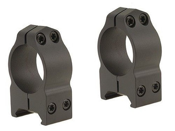 "Warne CZ527 1"" High 16mm Dovetail Rings Matte"