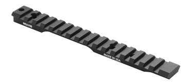 Weaver Extended Base Picatinny Rail for Savage Centerfire with AccuTrigger LA 0MOA